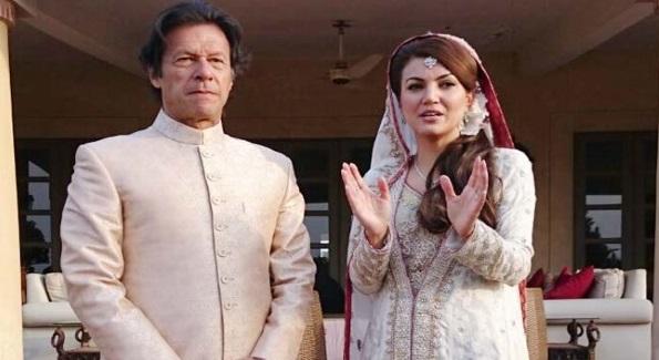 ازدواج سیاسی وطـــلاق سیاســـی !  ریحــــانه خان  از عمران خان جدا شــد!
