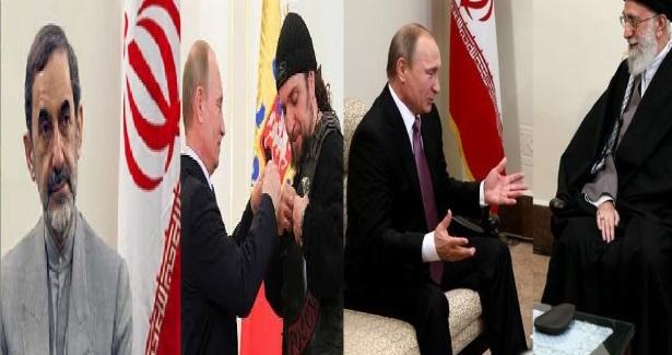 """رهبرایران : بشار اسد برخاسته ازمتن مردم است ؟ پوتین:""""ما متعهدیم که برخلاف برخیها به شرکایمان از پشت خنجر نزنیم.!"""