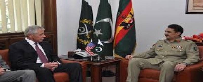 Rahel sharif and USA Defance Minester 15