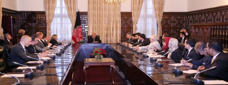 USA Delagation with Ashraf ghani 15