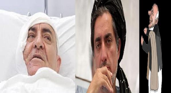 اشرف غنی عبدالله و احمد سعیدی 1