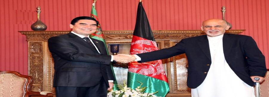 Turkmanistan and Ashraf ghani