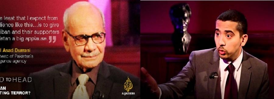Mehdi Hasan Aljazeera And asad Durani 30