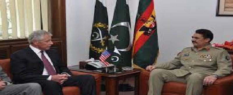Raheel Sharif and USA Defance Minester Jan Carter 20
