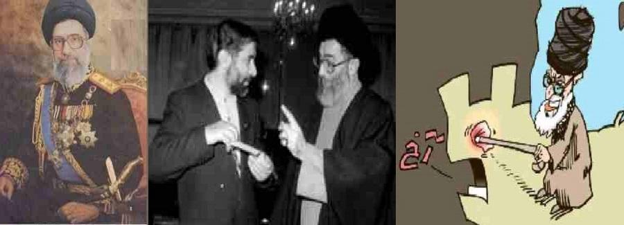 ali khamenei  in army  Cloths 11