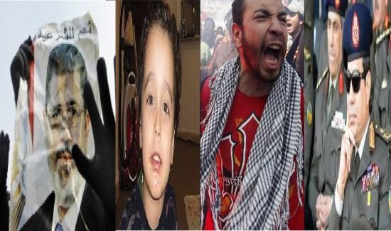 دریک محکمه ء جنائی مصر طفل چهارساله ای به ۲۸ سال حبس محکوم شد !