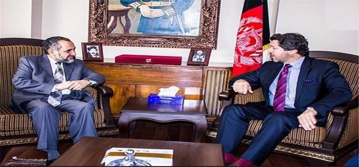 سفیر پاکستان در کابل و حکمت کرزی