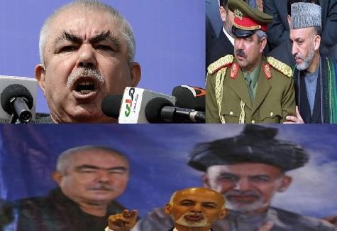 پهلوان دوستم :یا افغانستان راآزاد میکنیم یااین گوپیچه کفن ما می شود!!