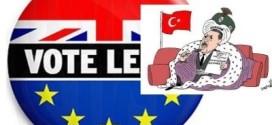 انگلــیـــس ازاتــحــادیه اروپــاخـارج میشــود.تــرکیه عضویت دراتحادیه اروپا را به همه پرسی میگذارد