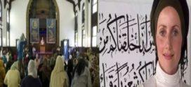 خانم شرین خانکان :هدف ازتأسیس مسجد زنانه مبارزه با تفسیر مـــردانه ازقــرآن پاک  است!