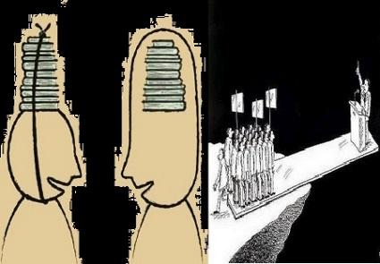 روشــــنـــفکـــــر و ظـــیفـــــه گـــرأ  و ســـیـــاســـتمـــدارغــــایــــتــــگـــر!