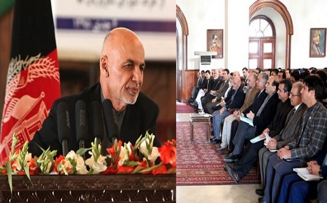 اشرف غنی:تپه ها وکوه های کابل راهیچ زورگویی نه میتواند بگیرد!!