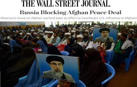 روسیه برمبنای کدامین اطلاعات استخباراتی نه می خواهند که نام حکمتیار از لست سیاه خارج شود ؟