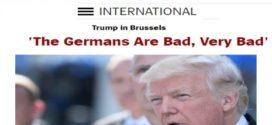 ترومپ:آلمانها بسیار بد اند؟