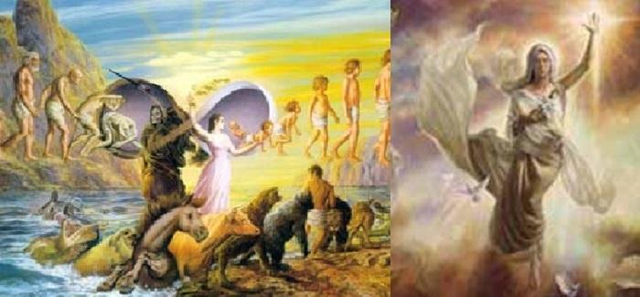 ملائکان و آفرینش انسان