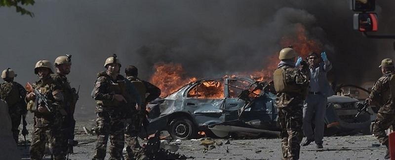 انفجار در کنار سفارت المان ۳۱ می ۲۰۱۷