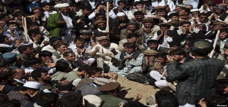 توده های از مردم ستمدیده افغانستان
