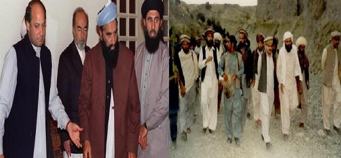رهبران مجاهدین و پاکستان