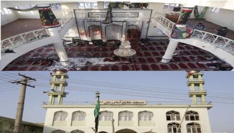 انجام جنایت انتحاری برمساجد    و برملا شدن بیماریی مشروعیت !