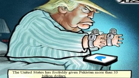 دیپلماسی تویتریی دونالد تـرومپ    و سرورمــافیـــائی حاکــمـــان کــابل !